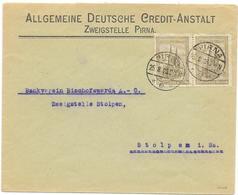 DR Infla Brief Mef MI.262, Geprüft, Pirna 25.8.23 - Germania