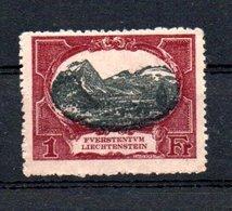 A299 Liechtenstein N° 59 *   à 10% De La Côte. A Saisir !!! - Ungebraucht
