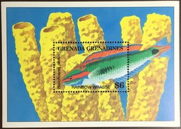 Grenada Grenadines 1994 Fish Marine Life Minisheet MNH - Fishes