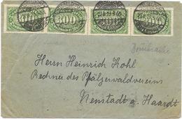 DR Infla Brief Düsseldorf 27.8.23 Mif. MI.249,268 - Germania