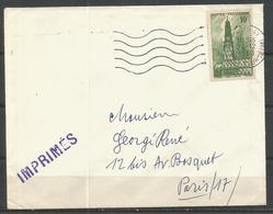 1942 - N° 567 Oblitéré (o) Seul Sur Lettre - Brieven En Documenten