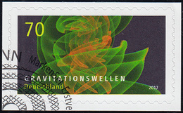 3356 Astrophysik Gravitationswellen, Selbstklebend Auf Neutraler Folie EV-O Bonn - [7] Repubblica Federale