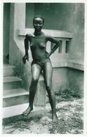 AFRIQUE MOYEN CONGO LOANGO AEF COLONIE, FEMME NUE, Photo, No Postcard, 2 Scans - Belgisch-Congo - Varia