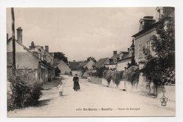 - CPA REUILLY (36) - Route De Bourges - Edition Auxenfans 2230 - - Francia