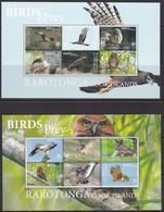 Rarotonga, Fauna, Birds Of Prey MNH / 2018 - Eagles & Birds Of Prey