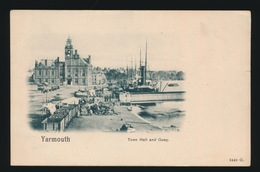 YARMOUTH  TOWN HALL AND QUAY - Andere