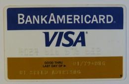 USA - Credit Card - VISA - Exp 01/79 - Hi SPEED ADVERTISING - Used - Geldkarten (Ablauf Min. 10 Jahre)