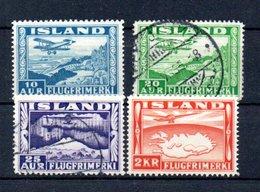 A4 Islande PA N° 15, 16, 17 Et 20 Oblitéré à 10% De La Côte. A Saisir !!! - Luftpost