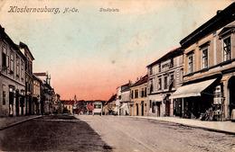KLOSTERNEUBURG : STADTPLATZ / CITY SQUARE : HOTEL / KRONEN BROT... - ANNÉE / YEAR : 1915 (ad510) - Klosterneuburg