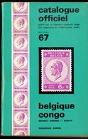 Catalogue Officiel  (FR) 1967 - Timbres De Belgique, Congo, Burundi, Ruanda-Urundi, Burundi, Katanga, EUROPA. - Belgique