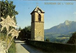 """CP Souvenir De L'OBIOU """" Environs De LA MURE , La Vieille Tour De Saint-pierre Et L'Obiou """" - La Mure"""