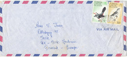 Turks & Caicos Air Mail Cover Sent To Denmark 7-9-1978 Topic Stamps BIRDS - Turks And Caicos
