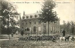 CPA - Belgique - Brugge - Bruges - St. André - Château Steenlien - Brugge