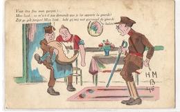 CPH 1047 OLD POSTCARD , HUMOR FANTASY , - Humour