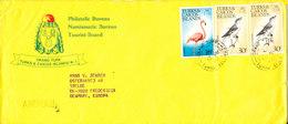 Turks & Caicos Cover Sent Air Mail To Denmark 15-7-1975 Topic Stamps BIRDS - Turks & Caicos (I. Turques Et Caïques)