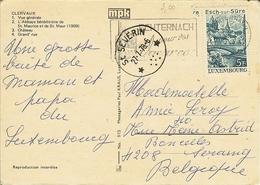 """CP De CLERVAUX """" Avec Cachet Relais De St-SEVERN - Postmarks With Stars"""