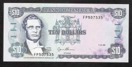 JAMAIQUE JAMAICA  P71g 10  DOLLARS 1994  #FP   UNC. - Jamaica