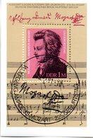 "(DDR-Bl) DDR Mi. Block 62 ""225. Geburtstag Von Wolfgang Amadeus Mozart""  ESSt  13.1.1981 BERLIN - [6] Democratic Republic"