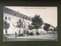 SEDAN-Intérieur De La Caserne Du 14° Dragons - Sedan