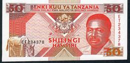 TANZANIA  P23 50 SHILLINGS 1993 #ET     UNC. - Tanzania