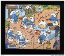 Belgie Blok Feuillet BL159 Smurfs Schtroumpfs Smurfen BD Strips Comics PEYO MNH - Blocs 1962-....