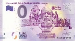 Allemagne - Billet Touristique / Souvenir 0 €uro - 2017 /  130 JAHRE SCHLOSSBAUVEREIN 2017- 6. - EURO