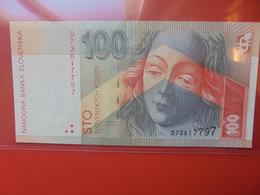 SLOVAQUIE 100 KORUN 1996 CIRCULER (B.10) - Slowakije