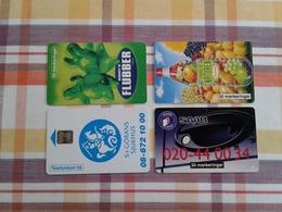 Sweden - 4 Rarer Chipcards - Svezia