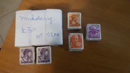 Italia - Michelangiolesca - 1700 Francobolli Dei Valori Da 5£; 10£, 15£ E 30£ * A.R. - Francobolli