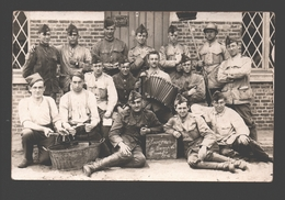 Originele Fotokaart / Carte Photo Originale - Soldaten / Militaires - 19e Linieregiment Kamp Beverloo - 1922 - Caserme