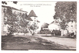Coulonges-sur-l'Autize (79 - Deux-Sèvres ) Place St Antoine - Coulonges-sur-l'Autize