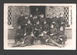 Originele Fotokaart / Carte Photo Originale - Soldaten / Militaires - 2e Linieregiment Kamp Beverloo - Caserme