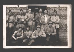 Originele Fotokaart / Carte Photo Originale - Soldaten / Militaires - 19e Linieregiment Kamp Beverloo - 1921 - Caserme