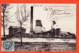 X71184 MONTCEAU-les-MINES Puits SAINTE-EUGENIESte 1904 à RIOU Rue Du Phénix Roanne - Montceau Les Mines