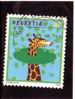 2019 Svizzera - La Giraffa - Oblitérés