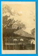Chamonix Vers 1866 * Les Pèlerins, Glacier Des Bossons * CDV 6 X 8,5cm Photo Albumine - Photographs
