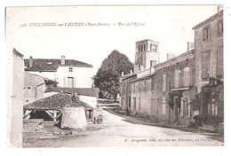 Coulonges-sur-l'Autize (79 - Deux-Sèvres ) Rue De L'Eglise - Coulonges-sur-l'Autize