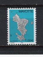 MAYOTTE - Y&T N° 161** - MNH - Carte De L'île - Neufs