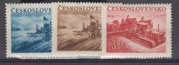 Tchécoslovaquie     1952         N°  633 /635        COTE      5 € 00         ( W 277 ) - Tchécoslovaquie