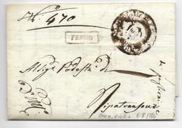 GOVERNO PROVVISORIO DI MURAT - DA FERMO A RIPATRANSONE - 6.8.1814. - Italia