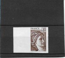 FRANCE Non Dentelé N°2118 Neuf** - SUP - - Francia
