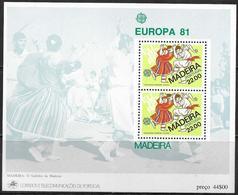 Portogallo/Portugal (Madera): Danza Locale, Local Dance, Danse Locale, Europa CEPT - Danza