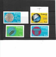 FRANCE Non Dentelé N°2126/2130 Sauf N°2129 Neuf** - SUP - - Imperforates