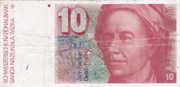 Suisse - Billet De 10 Francs - Léonhard Euler - Non Daté - Zwitserland