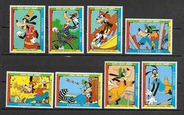 Disney Set Uganda 1992 Goofy MNH - Disney
