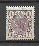 Österreich Austria 1904 Michel 105 MNH - Neufs