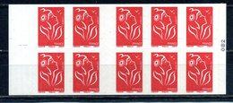 "CARNET  "" N° 3744b-C4 MARIANNE DE LAMOUCHE NEUF **   "" LA FRANCE A VOIR "" - Postzegelboekjes"