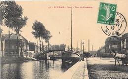 59 ROUBAIX - Péniche - Canal - Pont Du Cimetière - Roubaix