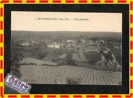 MONTESQUIEU.(Py.- Or.) Vue Générale (recto Verso) - Autres Communes