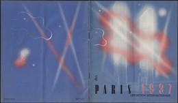 France 1937. Dépliant De L'Exposition Universelle De 1937, Exposition Internationale Des Arts Et Des Techniques - Sciences